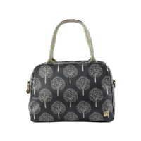 House of Tweed Tote Bag Handbag in Grey Mulberry Tree